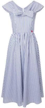 Vivetta bow-tie v-neck long dress