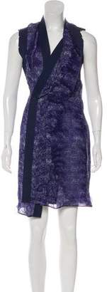 CNC Costume National Silk Printed Dress