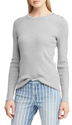 Lauren Ralph Lauren Crewneck Long-Sleeve Sweater