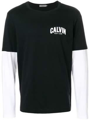 Calvin Klein Jeans Tero layered sleeves T-shirt