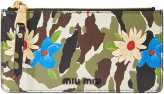 Miu Miu Small printed purse