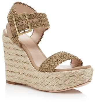 Stuart Weitzman Women's Alexis Espadrille Wedge Sandals