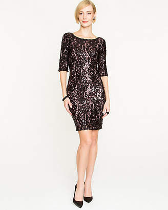 Le Château Stretch Lace & Sequin Cocktail Dress