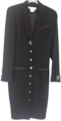 Chantal Thomass Black Wool Coat for Women