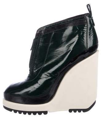 Marc Jacobs Platform Wedge Booties