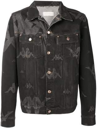 Kappa Sunney logo print denim jacket