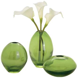 Torre & Tagus Mini Luster Vases (Set of 3)