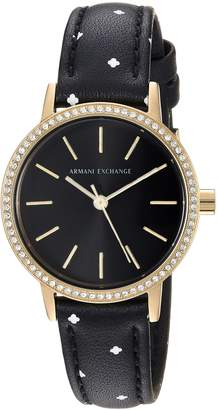 Armani Exchange A|X  Women's Leather Watch AX5543