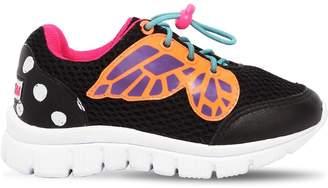Sophia Webster Chiara Mesh Slip-On Sneakers