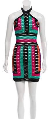 Balmain Knit Halter Dress