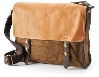 The Same Direction Birch Leather Messenger Bag