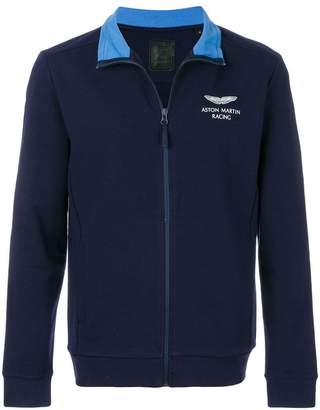 Hackett Aston Martin Racing full-zip sweater