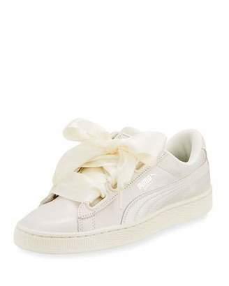 Puma Basket Heart Lace-Up Sneaker