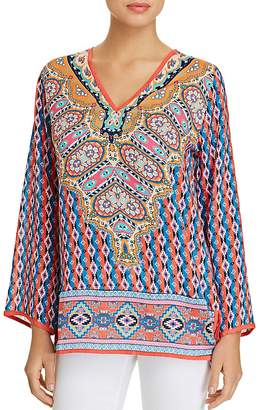 Tolani Monisha Printed Tunic Top