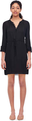 Rebecca Taylor Silk Double Georgette Shirtdress