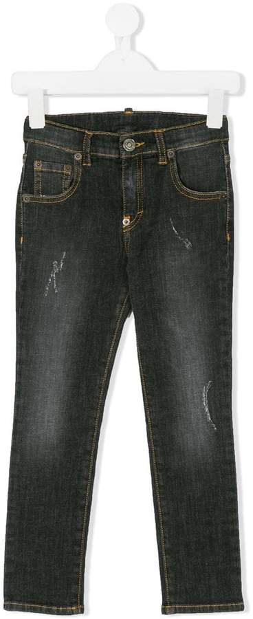 Douuod Kids Jeans in Distressed-Optik
