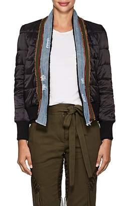 Greg Lauren Women's Quilted Ripstop Kimono Jacket