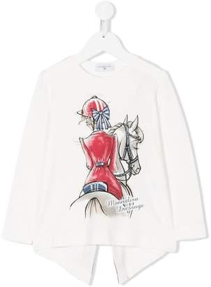 MonnaLisa printed blouse