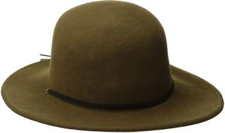 1dce0085c23 at Amazon Canada · Brixton Men s Tiller Wide Brim Felt Fedora Hat