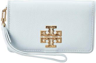 Tory Burch Britton Leather Smart Phone Wallet