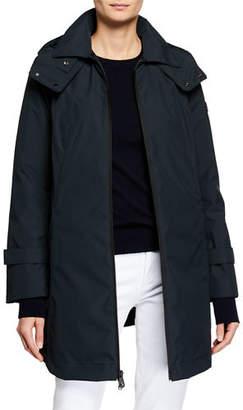 Peuterey Huyana Water-Repellent Coat w/ Detachable Hood