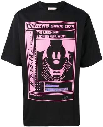 Iceberg graphic print T-shirt