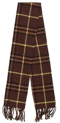 Burberry Cashmere Knit Scarf