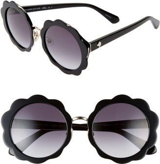 Kate Spade Karries 52mm Round Sunglasses