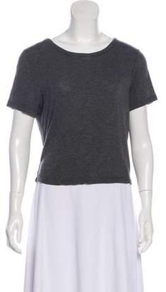 Alice + Olivia Knit Short Sleeve Top