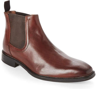 Bacco Bucci Studio Tan Tangier Leather Chelsea Boots