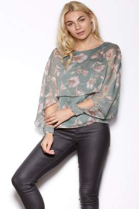 Pink Martini Collection Floral Long Sleeve