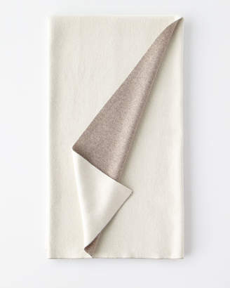 Sofia Cashmere Double-Face Cashmere Throw