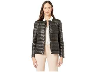 Lauren Ralph Lauren Soft Puff Collarless Jacket