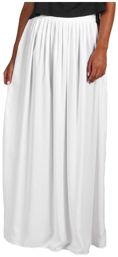 BCBGMAXAZRIA - Sophia Maxi Skirt (White) - Apparel