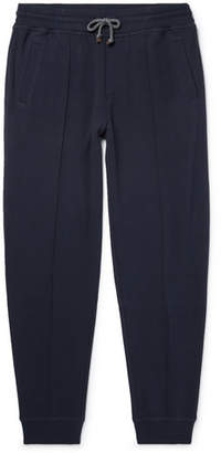 Brunello Cucinelli Slim-Fit Tapered Cotton-Blend Jersey Sweatpants