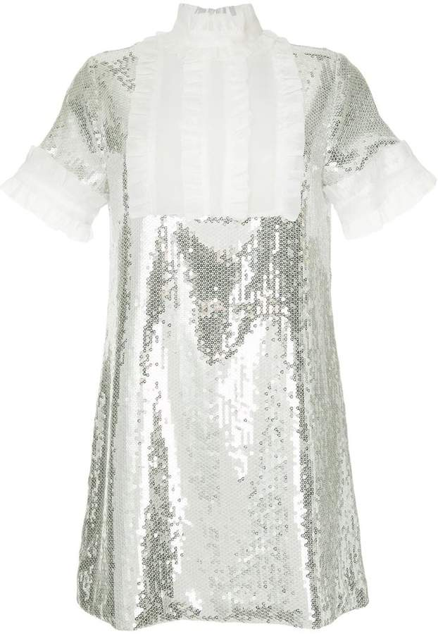 Macgraw Electric Dream sequinned dress