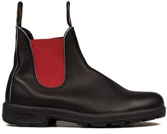 Blundstone Black/red Leather Low Boot
