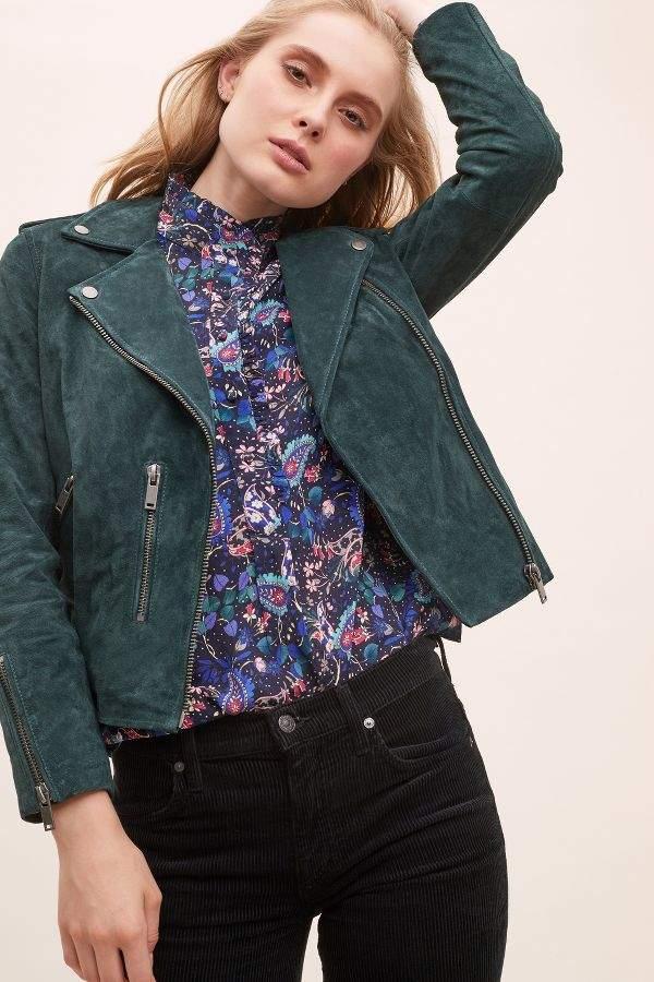 Sanella Suede Jacket
