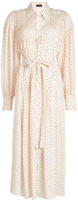 Joseph Crosby Printed Silk Dress