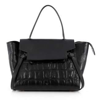 Celine Black Leather Handbag