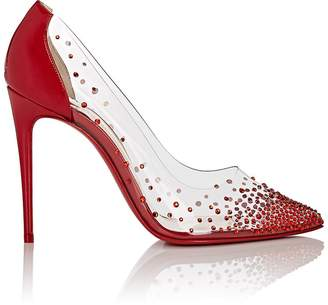 Christian Louboutin Women's Degrastrass PVC & Patent Leather Pumps