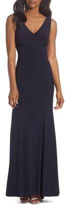 Vince Camuto Open Back Gown