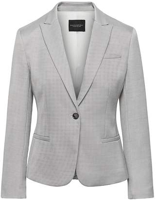 Banana Republic Petite Exclusive Classic-Fit Satin Blazer