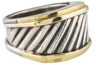 David Yurman Two-Tone Cable Cigar Band
