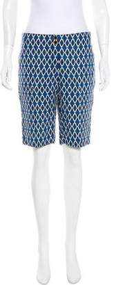 Tory Burch Mid-Rise Knee-Length Shorts