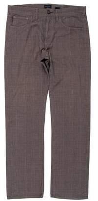 Paul Smith Plaid Flat Front Pants