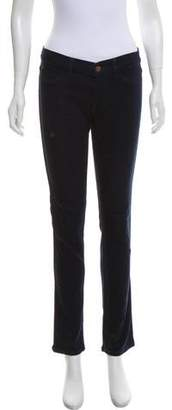 MiH Jeans Low-Rise Skinny Jeans