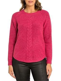 Marc O'Polo Marco Polo Long Sleeve Mixed Knit Sweater