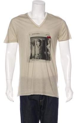 Dolce & Gabbana James Dean Distressed T-Shirt