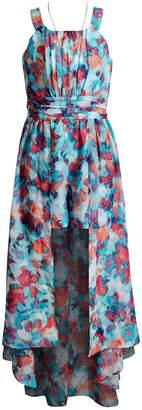 674b2695794 at Macy s · Sweet Heart Rose Printed Maxi Overlay Romper